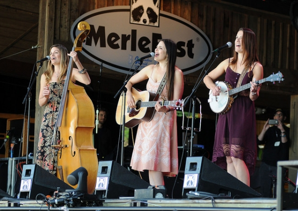 Underhill Rose at MerleFest 2015. Photo by Jim Gavenus.